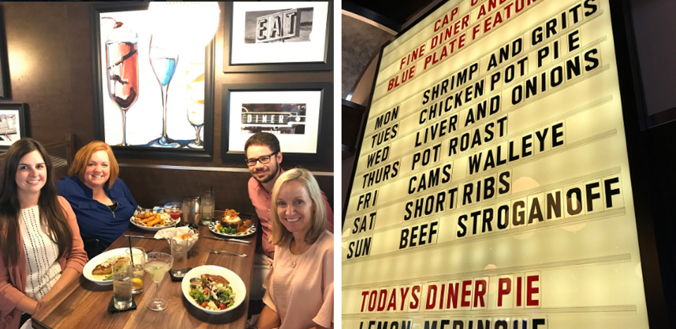 Dublin and MJ2 Marketing Welcome Cameron Mitchell and Cap City Diner